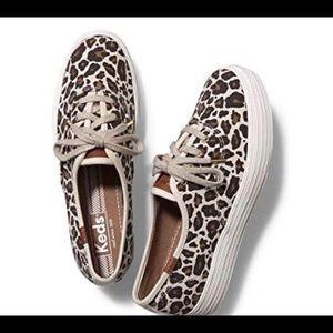 Keds Women's Triple Leopard Sneaker